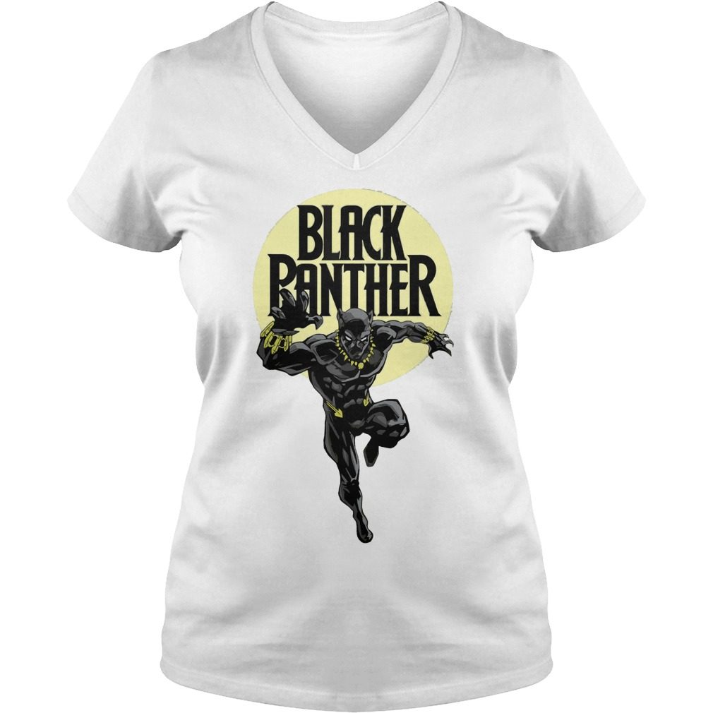 Black Panther T Challa Claws V Neck T Shirt