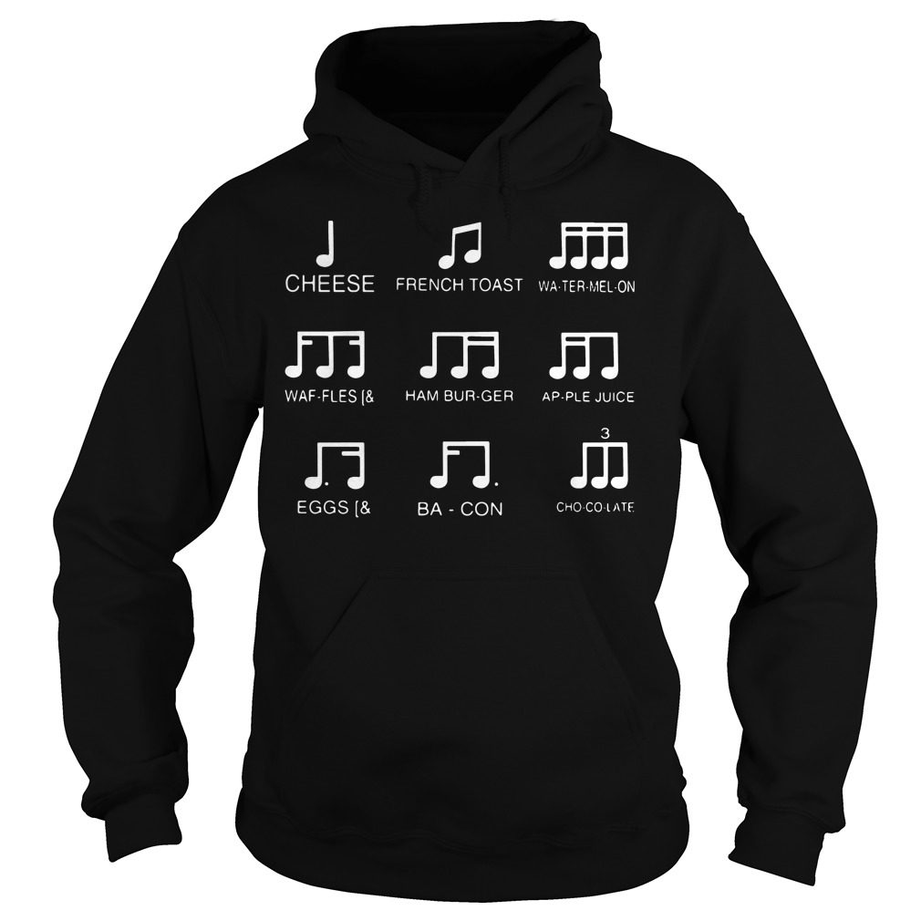 Cheese French Toast Watermelon Waffles Hoodie