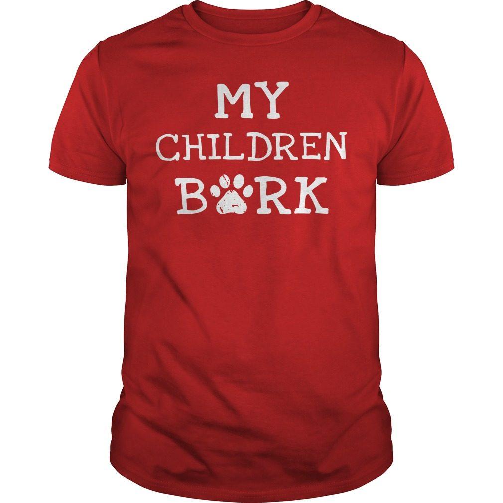 Children Bork Dog Shirt