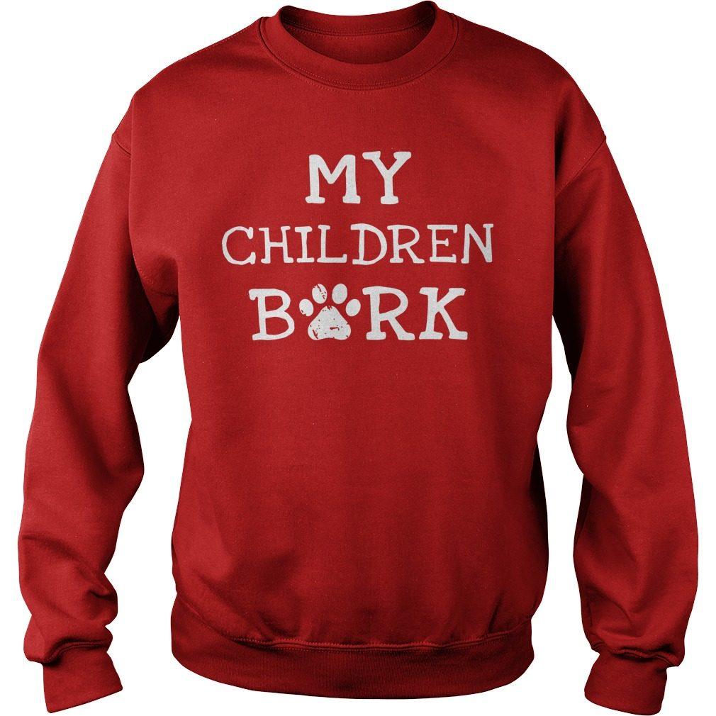 Children Bork Dog Sweater