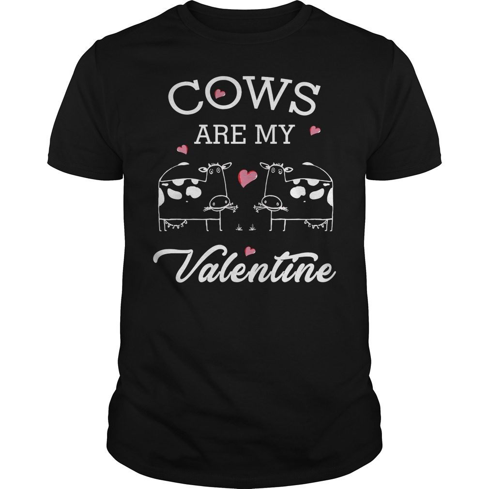 Cows Valentine Guys Shirt