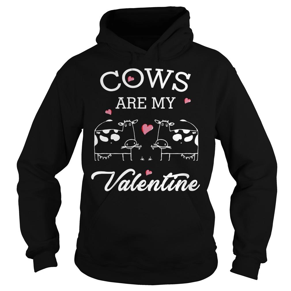 Cows Valentine Hoodie