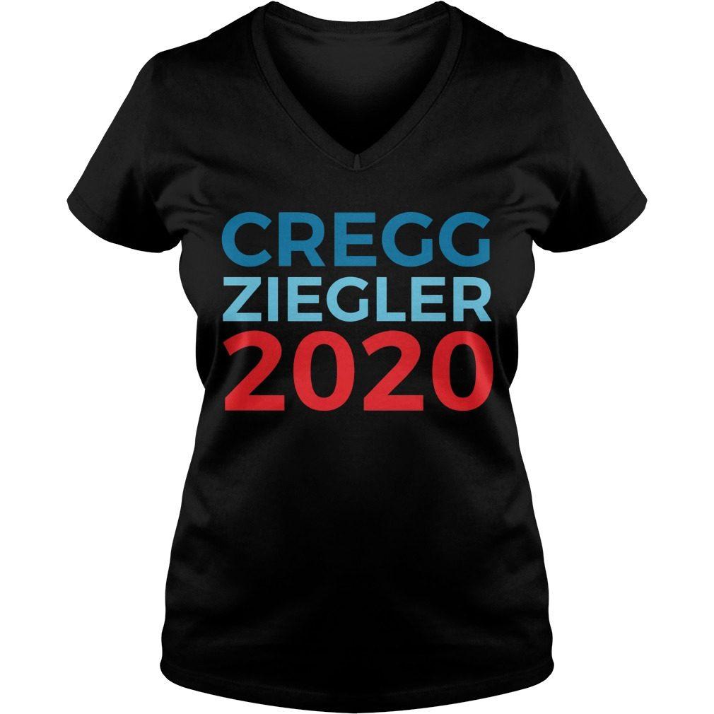 Cregg Ziegler 2020 V Neck T Shirt