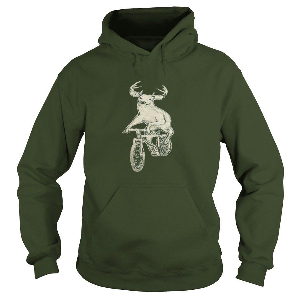 Dark Cycle Clothing Mens Deer Mountain Bike Hoodie