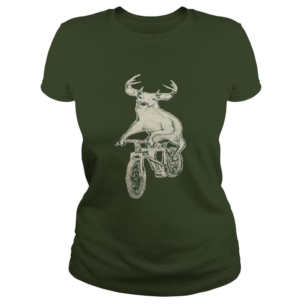 Dark Cycle Clothing Mens Deer Mountain Bike Ladies Tee