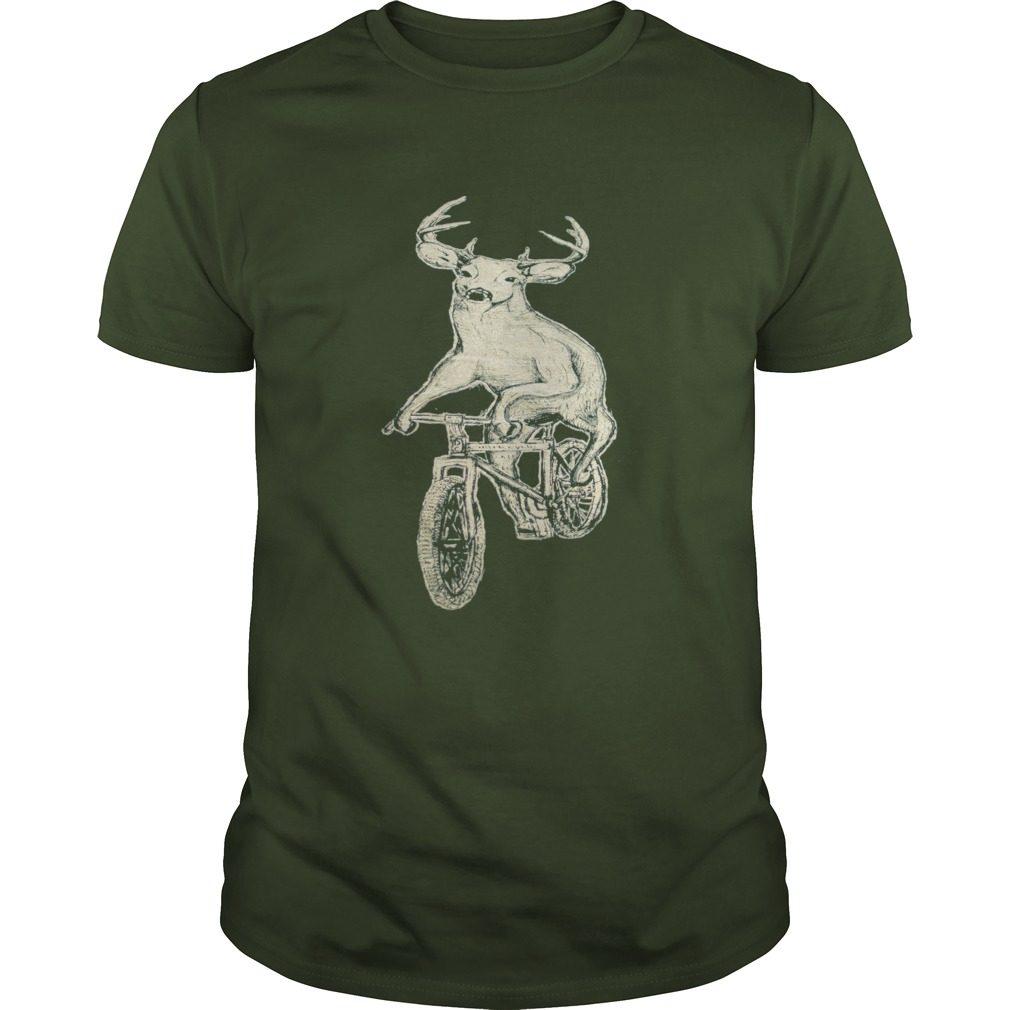 Dark Cycle Clothing Mens Deer Mountain Bike Shirt