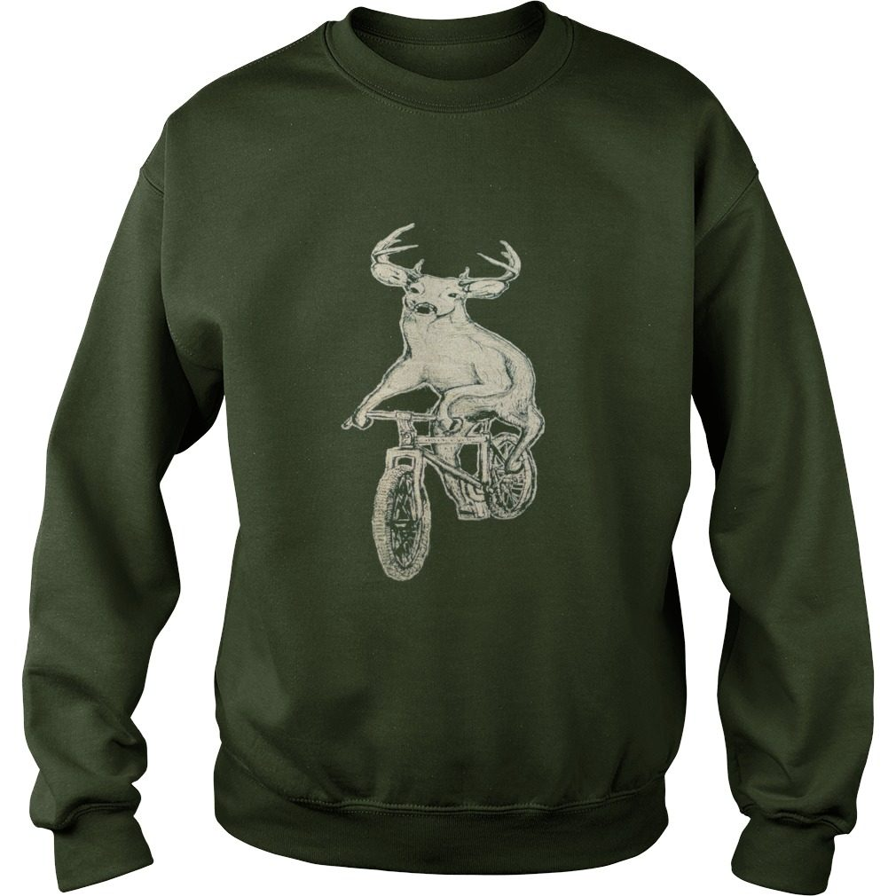 Dark Cycle Clothing Mens Deer Mountain Bike Sweater