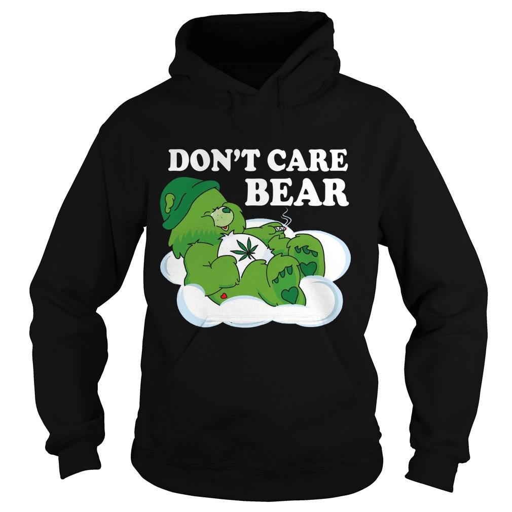 Dont Care Bear Hoodie