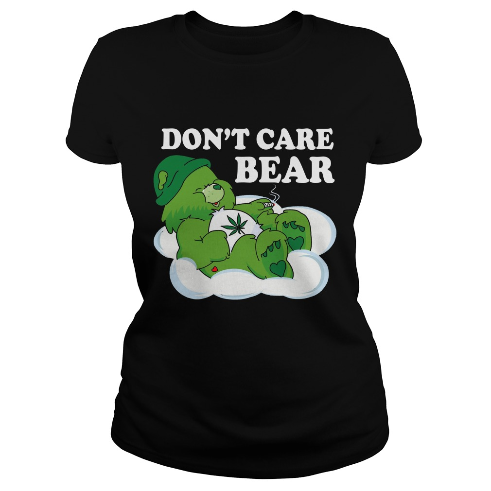 Dont Care Bear Ladies Tee