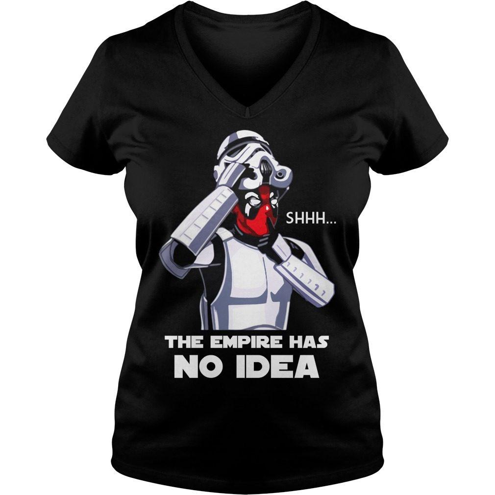 Empire No Idea V Neck T Shirt