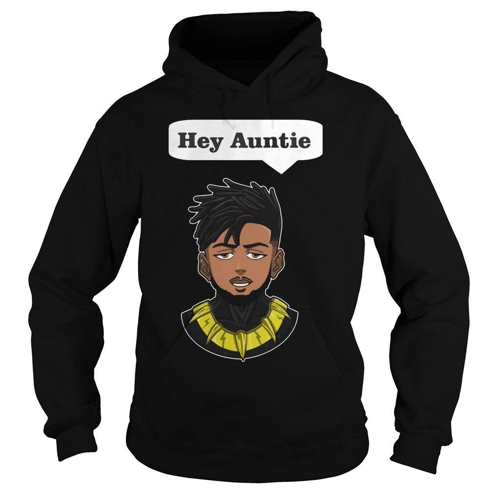 Erik Killmonger Hey Auntie Hoodie