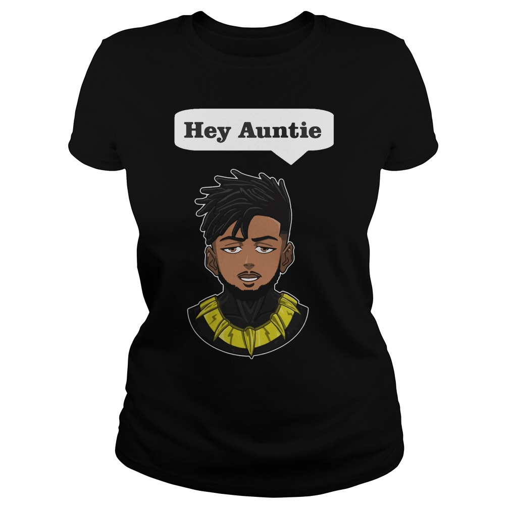 Erik Killmonger Hey Auntie Ladies Tee