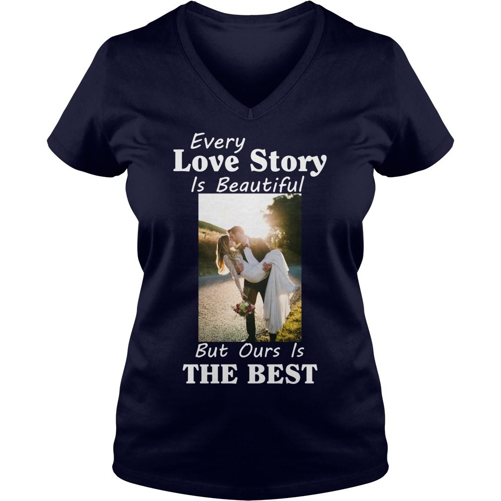 Every Love Story Beautiful Best V Neck T Shirt