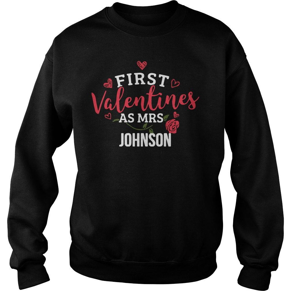 First Valentines Mrs Johnson Sweater