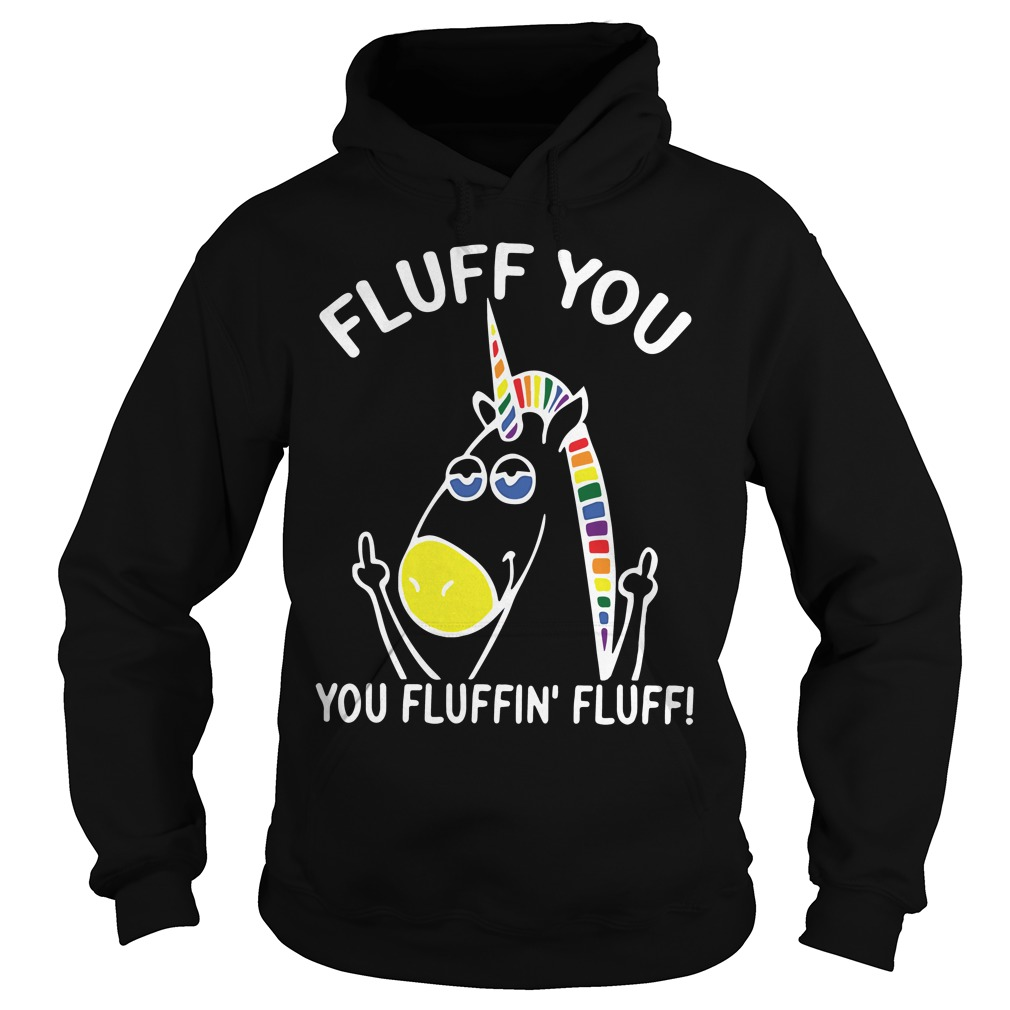 Fluff Fluffin Fluff Funny Juniors Hoodie