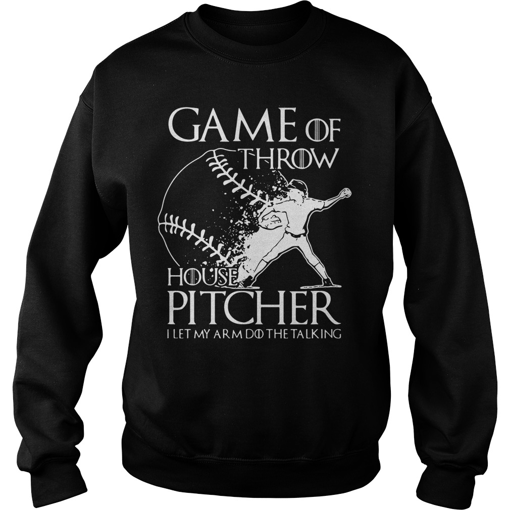 Game Throw House Pitcher Let Arm Talking Sweater
