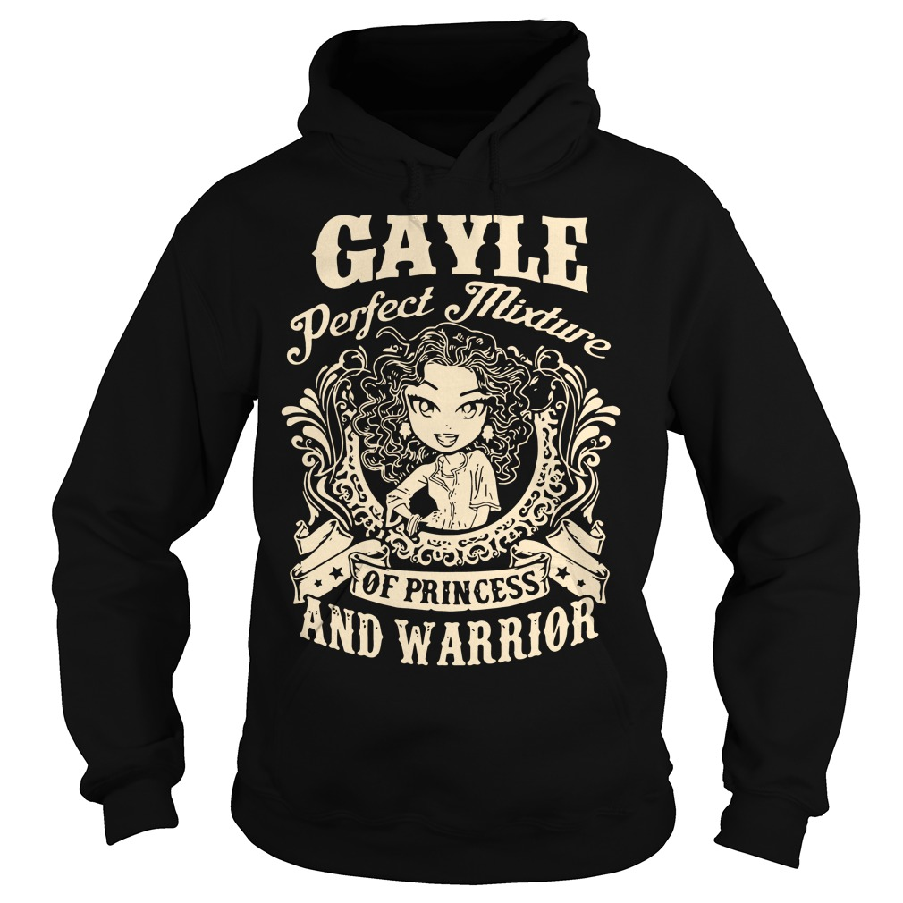 Gayle Perfect Mixture Princess Warrior Hoodie