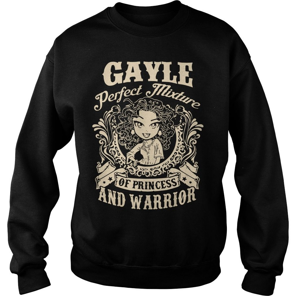 Gayle Perfect Mixture Princess Warrior Sweater