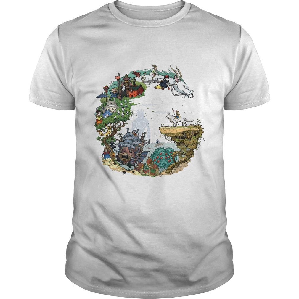 Ghiblis Characters Shirt