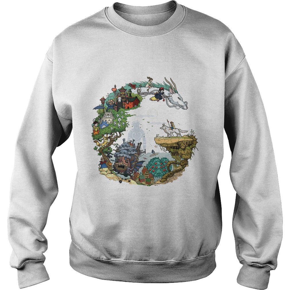Ghiblis Characters Sweater