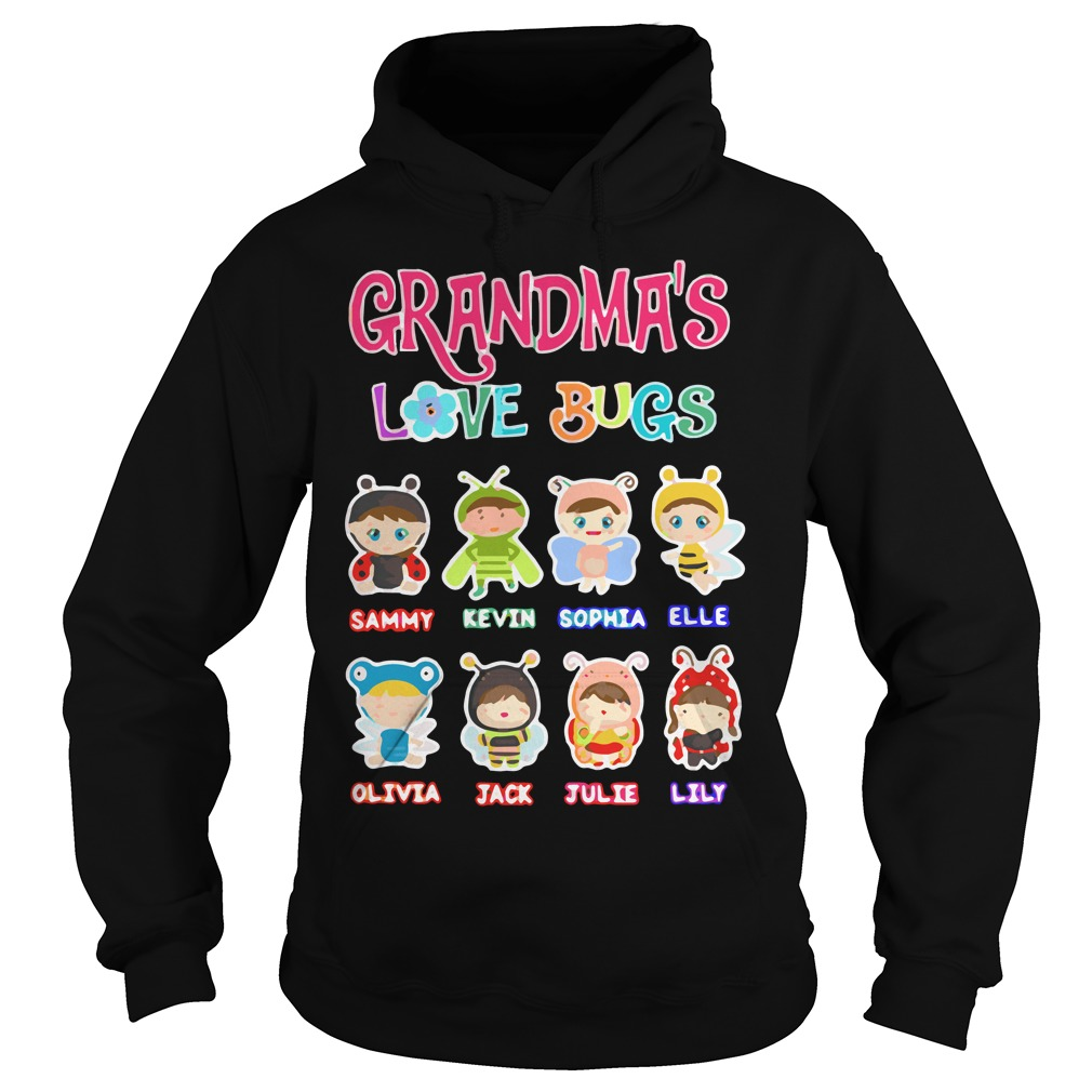 Grandmas Love Bugs Hoodie