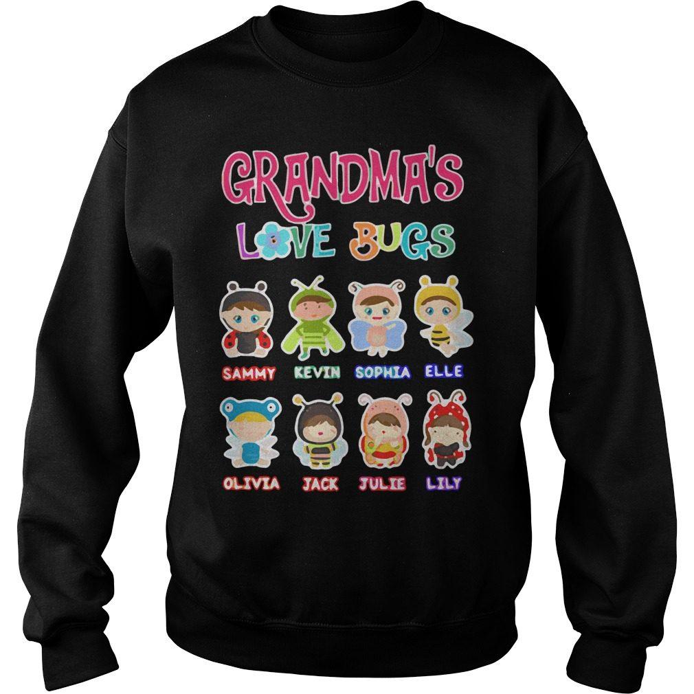 Grandmas Love Bugs Sweater