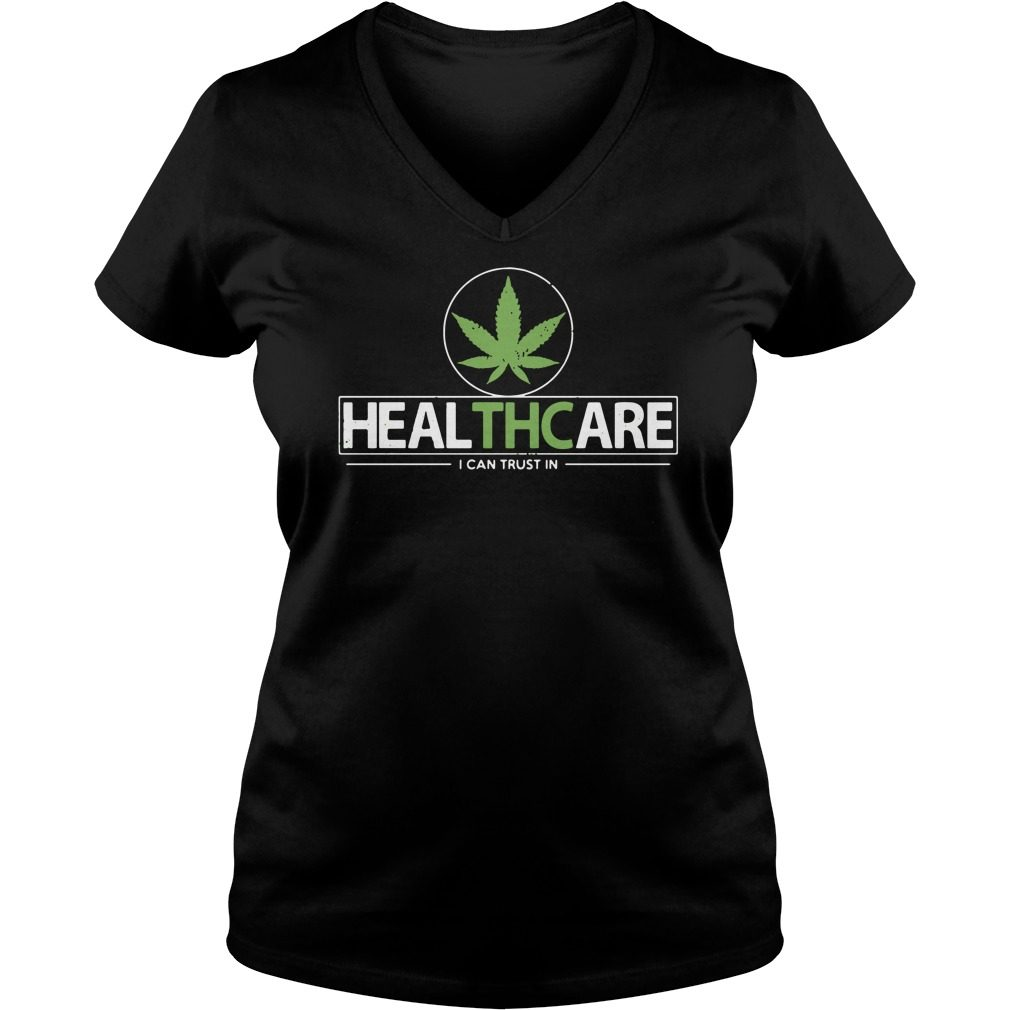 Healthcare Can Trust V Neck T Shirt