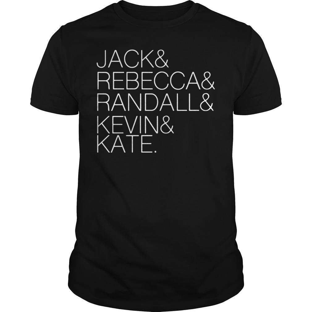 Jack Rebecca Randall Kevin Kate Shirt