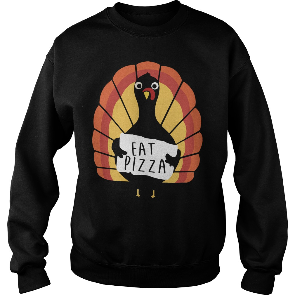 Jumping Beans Eat Pizza Thanksgiving Turkey Sweater