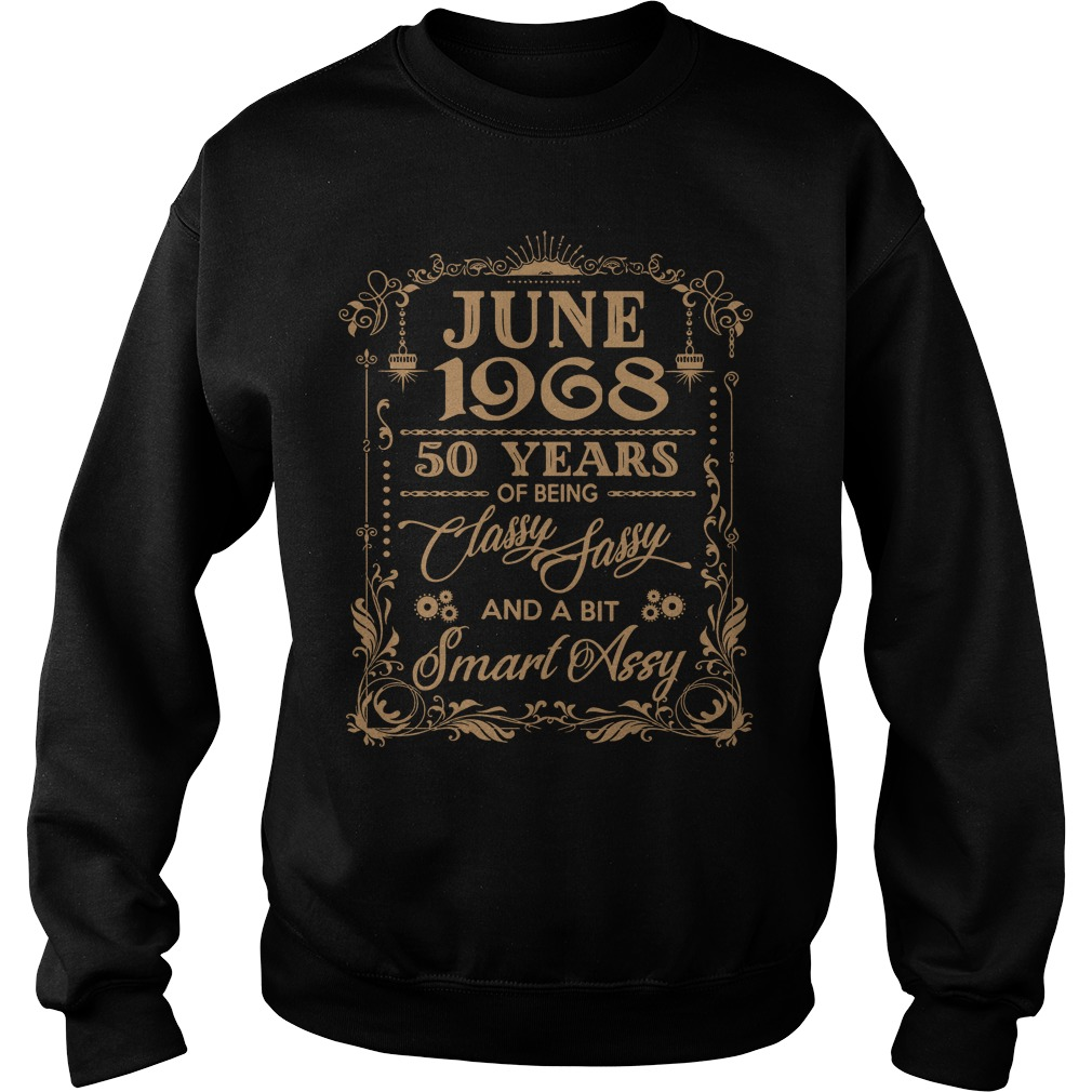 June 1968 50 Years Classy Sassy Bit Smart Assy Sweater