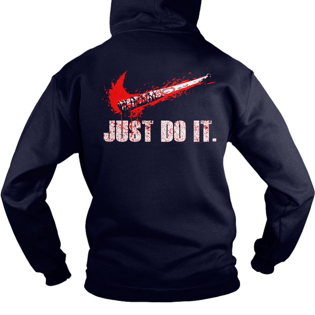 Just Do It Walking Grimes Dead Hoodie