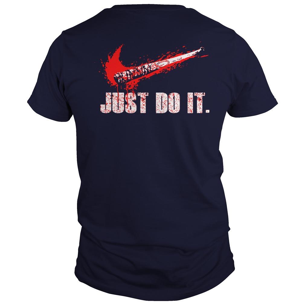 Just Do It Walking Grimes Dead Shirt