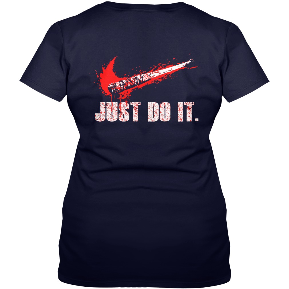 Just Do It Walking Grimes Dead V-neck t-shirt