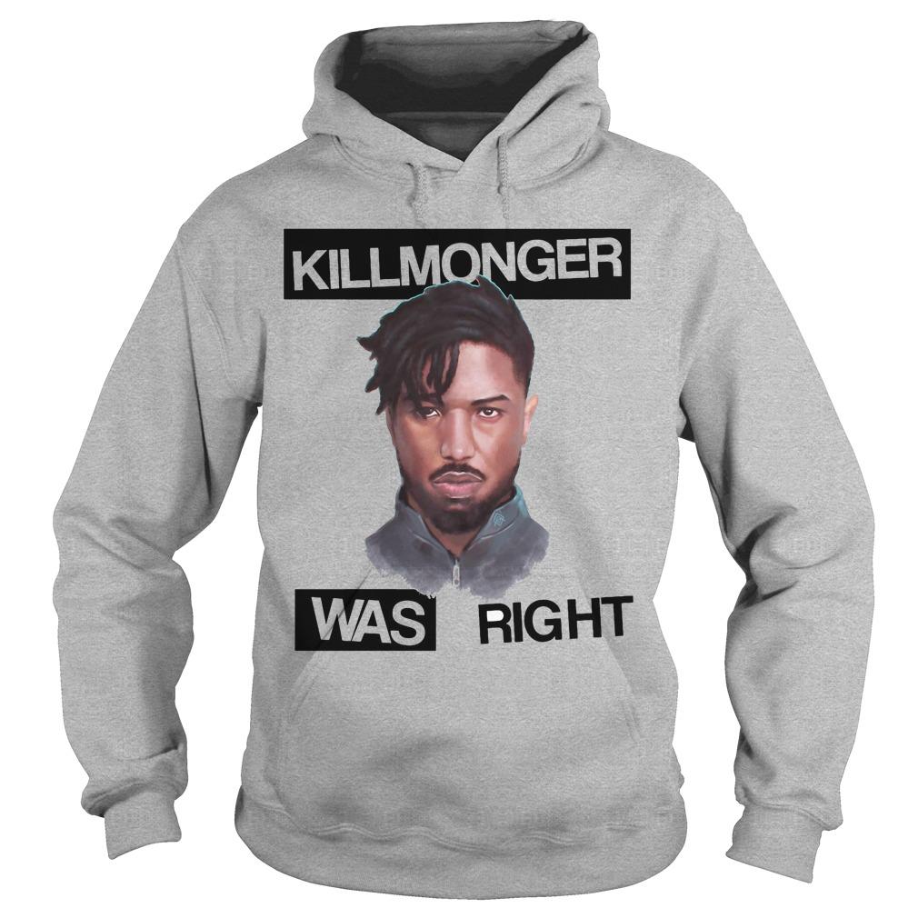 Killmonger Right Hoodie