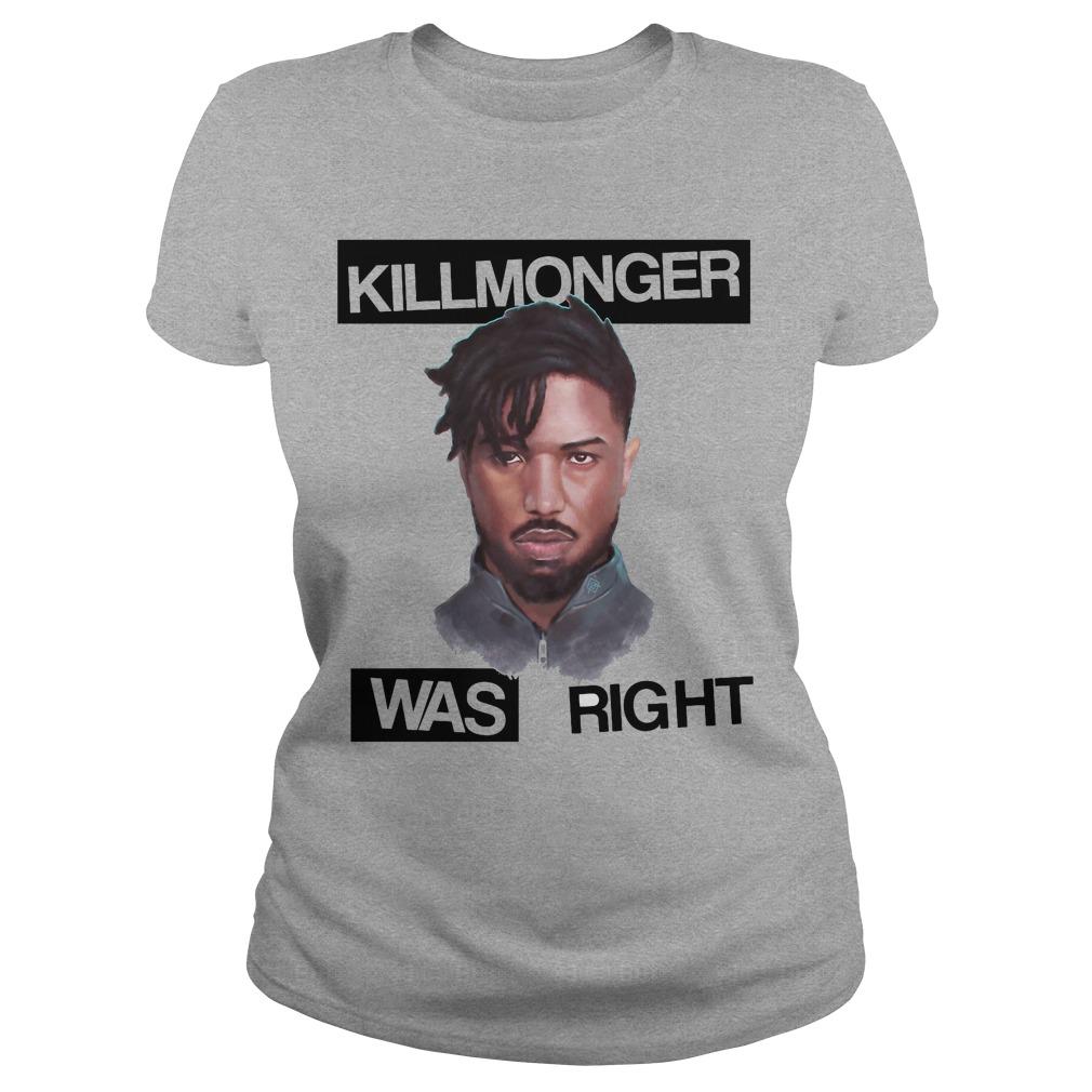 Killmonger Right Ladies Tee