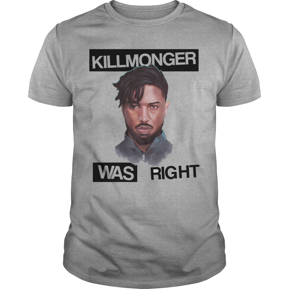Killmonger Right Shirt