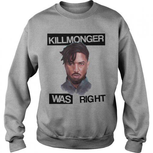 Killmonger Right Sweater