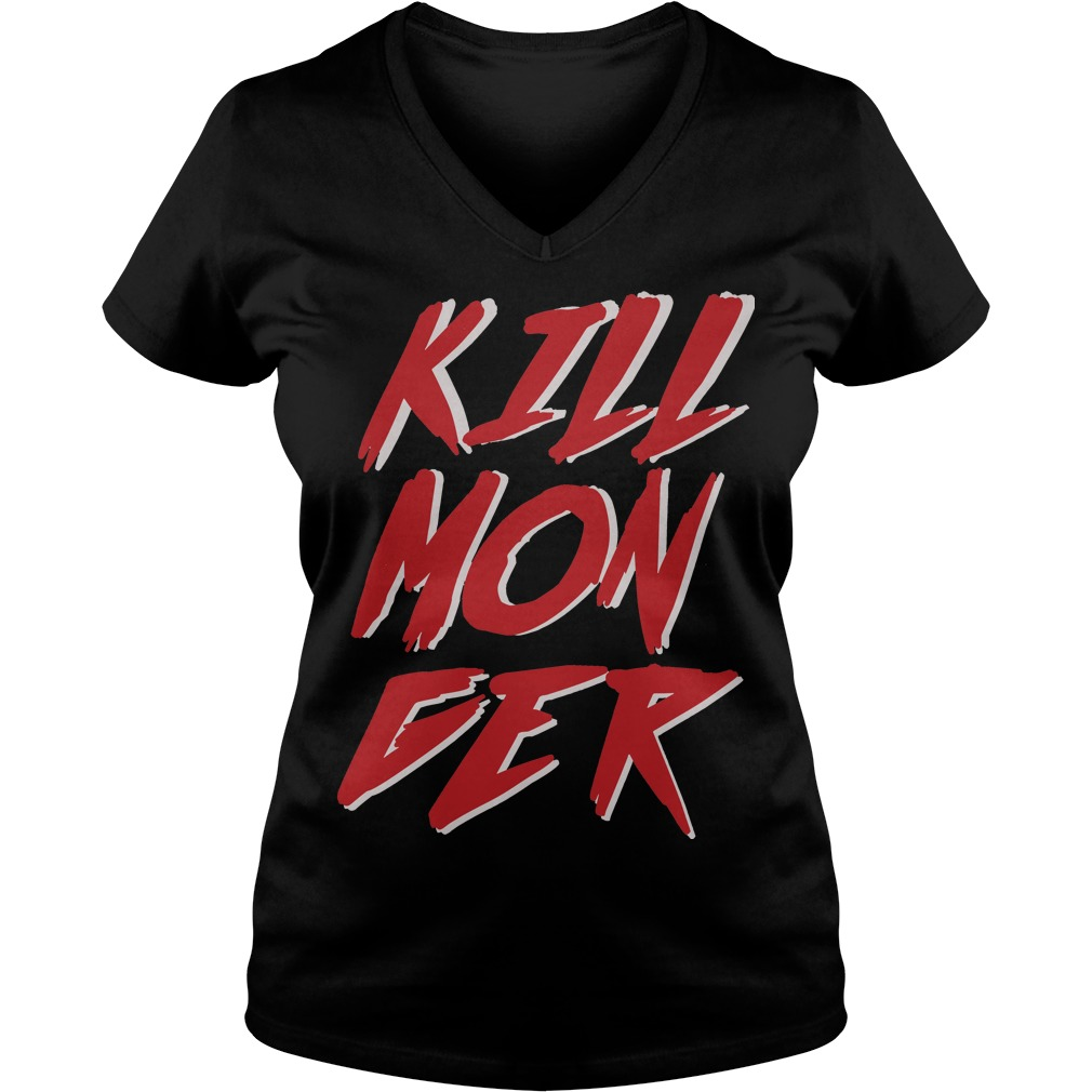 Killmonger V Neck T Shirt