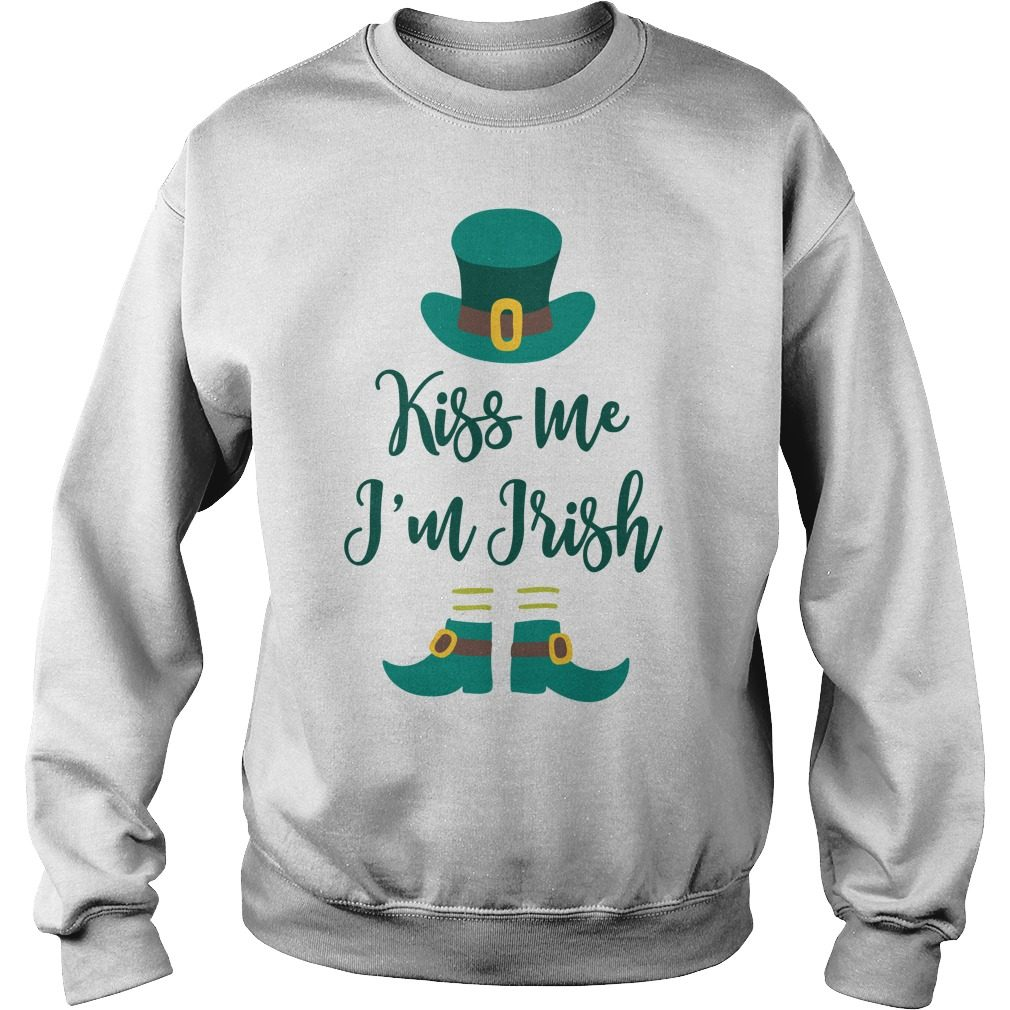 Kiss Im Irish Sweater