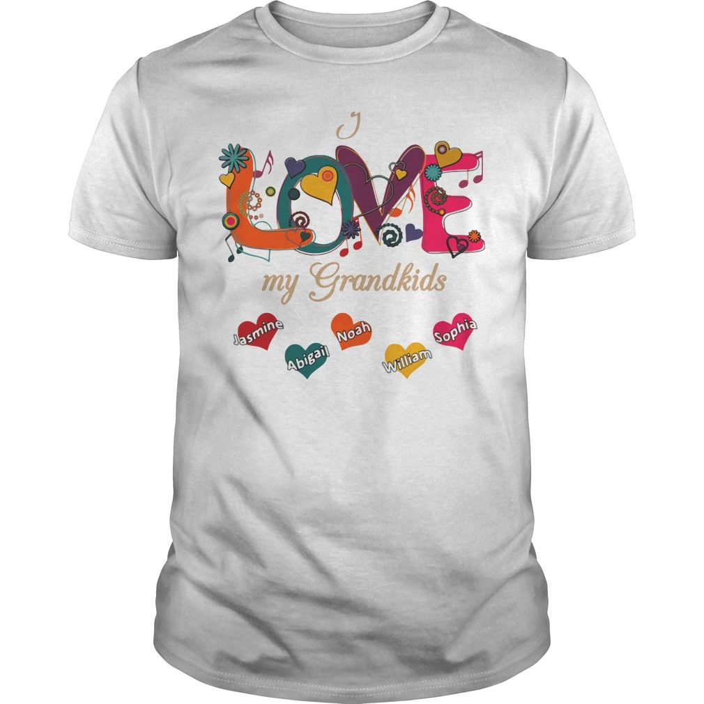 Love Grandkids Guys Shirt