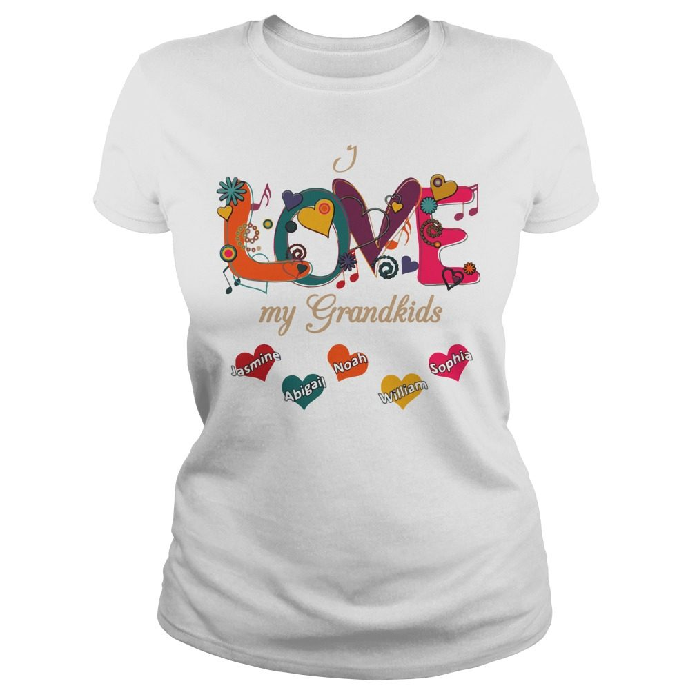 Love Grandkids Ladies Tee
