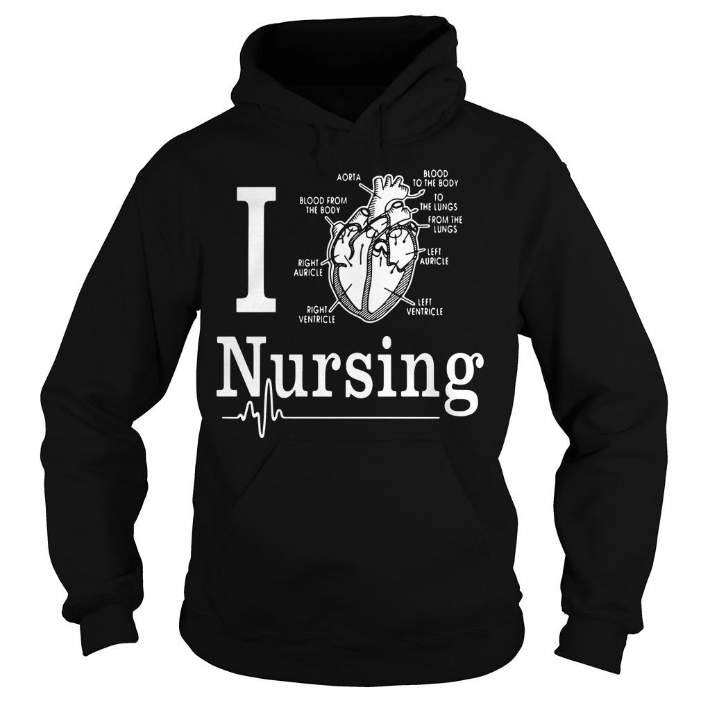 Love Nursing Hoodie