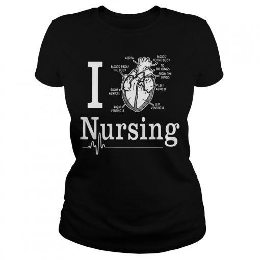 Love Nursing Ladies Tee