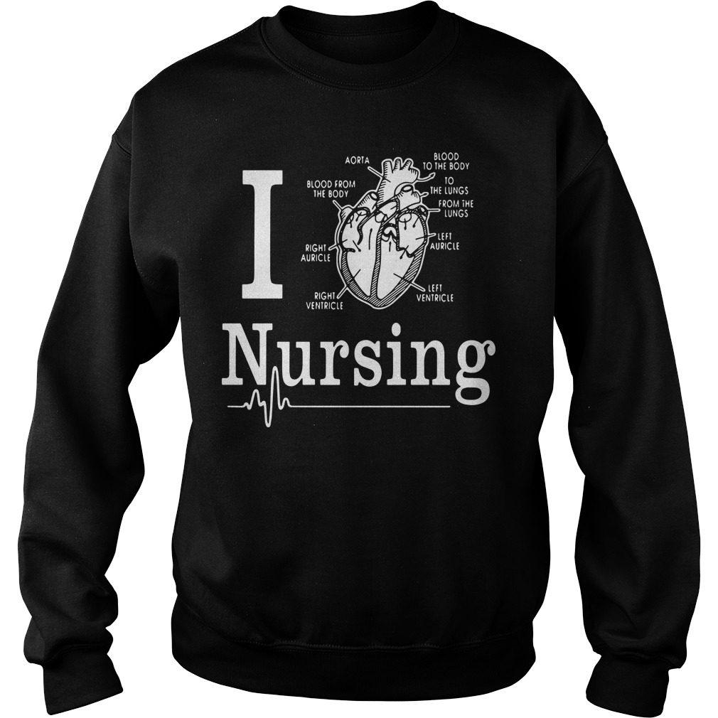 Love Nursing Sweater