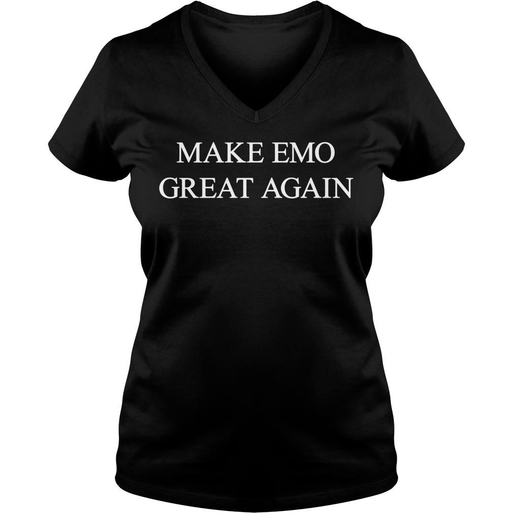 Make Emo Great Again V-neck t-shirt