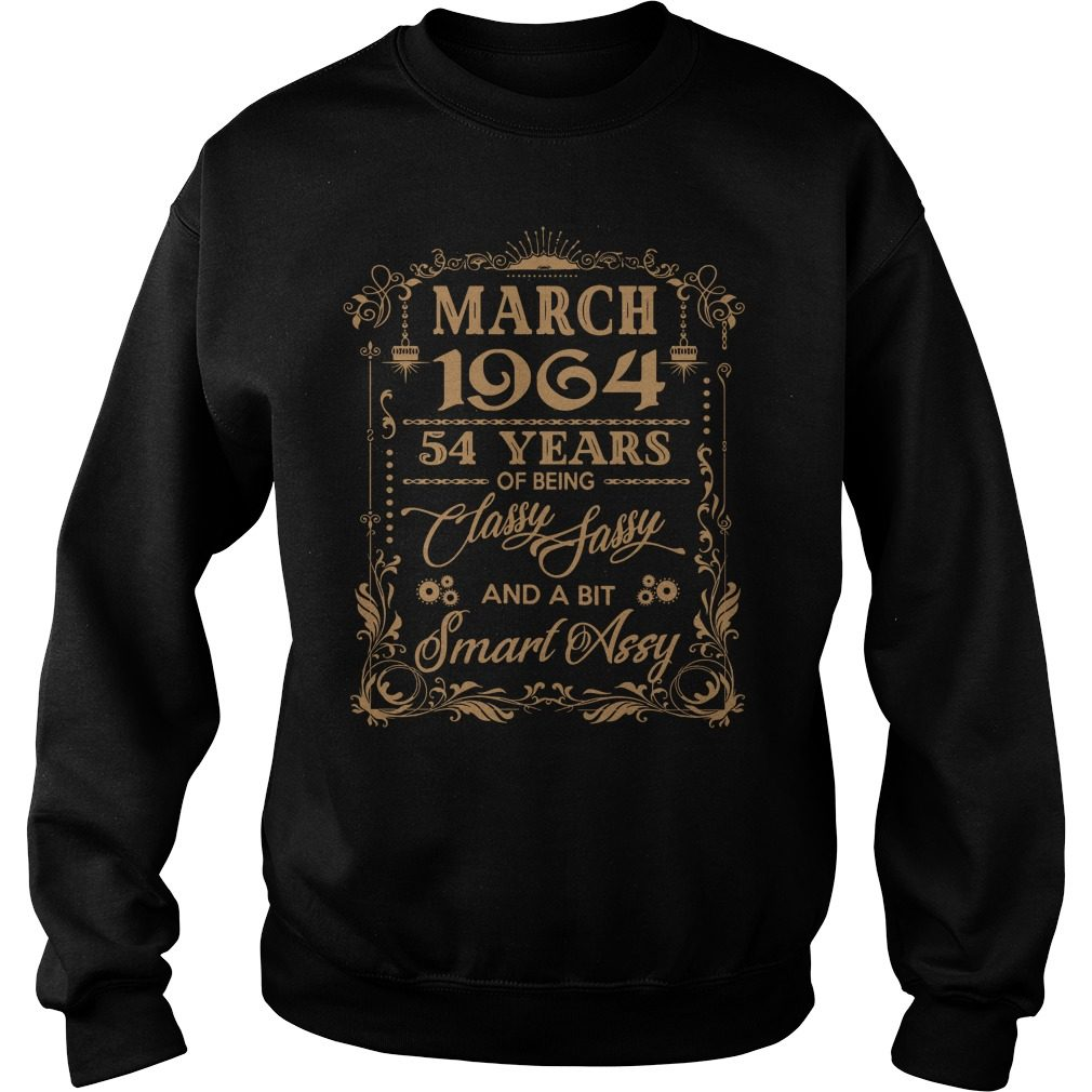 March 1964 54 Years Of Being Classy Sassy And A Bit Smart Assy Sweater