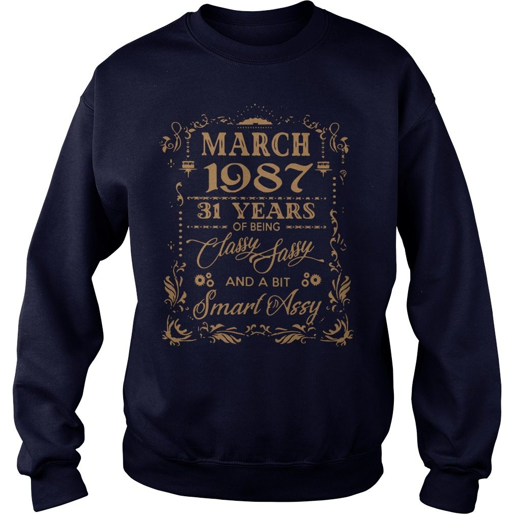 March 1987 31 Years Classy Sassy Bit Smart Assy Sweater