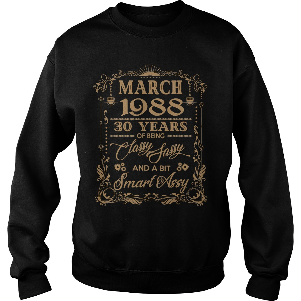 March 1988 30 Years Classy Sassy Bit Smart Assy Sweater