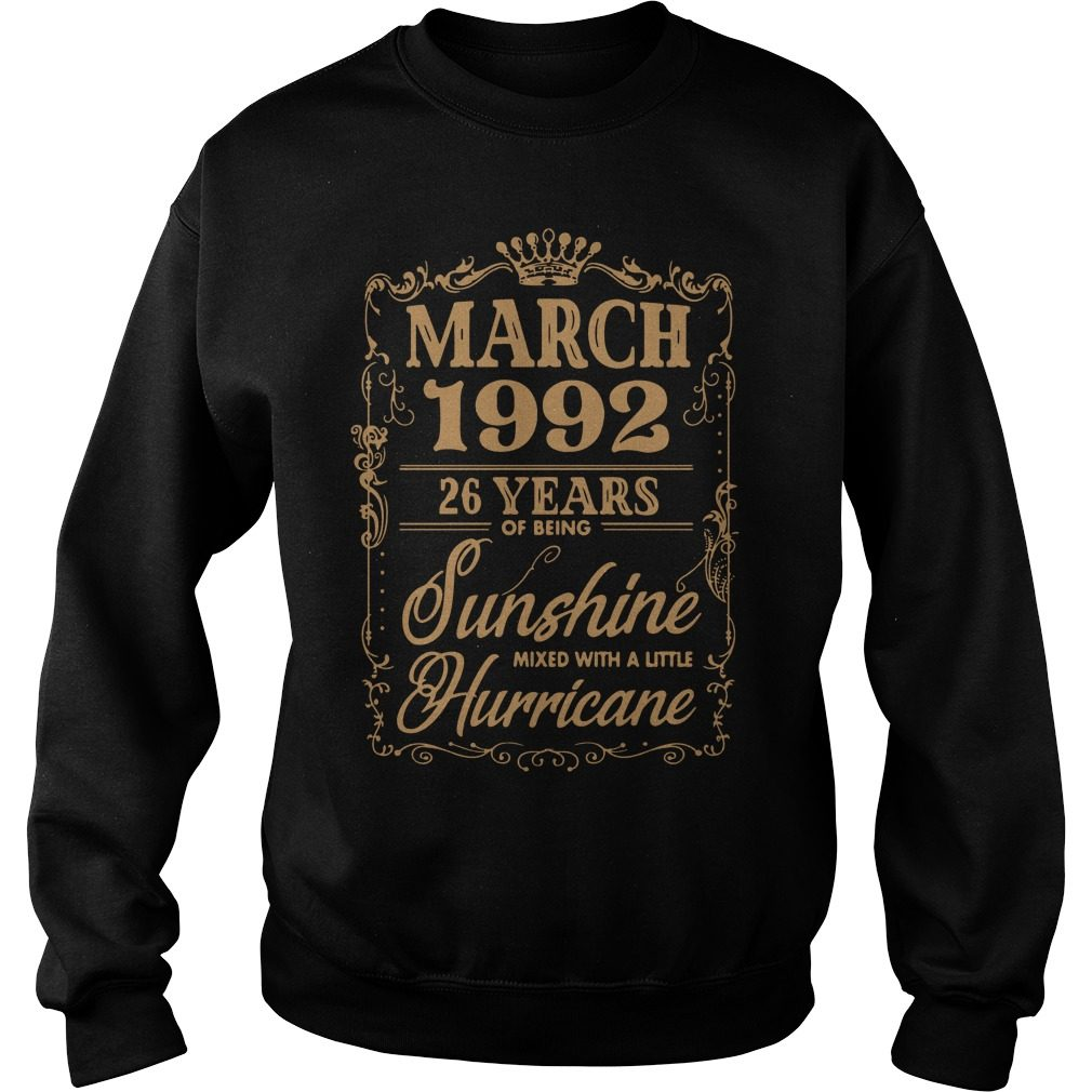March 1992 26 Years Sunshine Mixed Little Hurricane Sweater