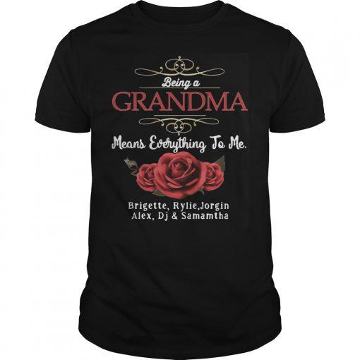 Means Everything To Me Brigette Rylie Jorgin Alex Dj And Samamtha Guys Shirt